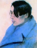 Portrait of Lorinc Szabo, 1923, ripplronai