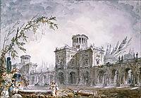 Architectural Fantasy, 1760, robert