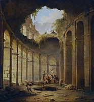 Colosseum, Rome, 1790, robert