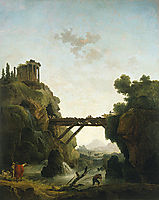 Fantastic View of Tivoli, 1789, robert