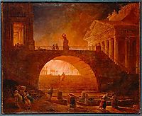 The Fire of Rome, 18 July 64 AD, robert