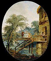The Footbridge, 1775, robert