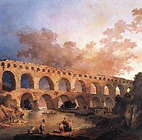 The Pont du Gard, 1787, robert