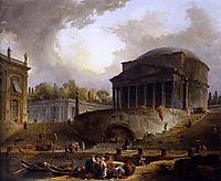View of Ripetta, 1766, robert