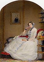Empress Alexandria Fedorovna, 1851, robertson