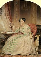 Grand Duchess Maria Alexandrovna, 1850, robertson