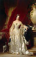 Portrait of Empress Alexandra Fedorovna, c.1842, robertson