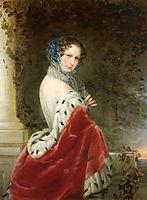 Portrait of Empress Alexandra Fyodorovna (Charlotte of Prussia), 1852, robertson