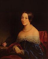 Portrait of Julia Feodorovna Kurakina, 1841, robertson