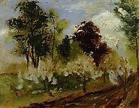 Belgian Landscape, rodin