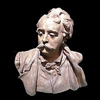 Bust of Albert Ernest Carrier Belleuse, rodin
