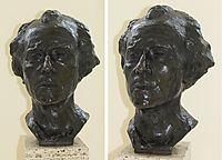 Bust of Gustav Mahler, rodin