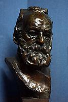 Bust of Victor Hugo, rodin