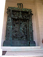 The Gates of Hell, rodin