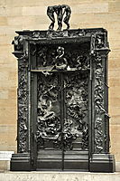 The Gates of Hell, 1917, rodin