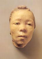 Mask of Hanako, the Japanese Actress, rodin