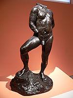 Nude study for Balzac, rodin