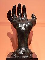 Right hand, rodin