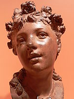 Young girl, rodin