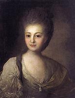 Portrait of Alexandra Struiskaya, 1772, rokotov
