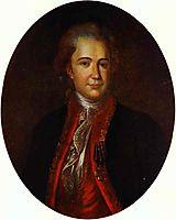 Portrait of an Unknown Man, c.1780, rokotov