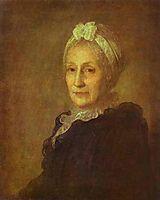Portrait of Anna Yuryevna Kvashnina-Samarina, c.1770, rokotov
