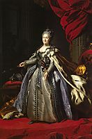 Portrait of Catherine II of Russia, c.1780, rokotov