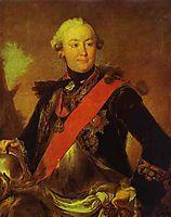 Portrait of Count G.G.Orlov, 1763, rokotov