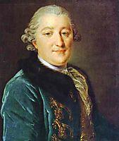 Portrait of Count I.G.Orlov, c.1765, rokotov