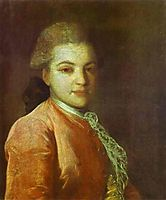 Portrait of Count Illarion Ivanovich Vorontsov, c.1770, rokotov