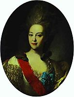 Portrait of Countess Ekaterina Orlova, 1779, rokotov