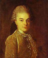 Portrait of A.M.Rimskiy-Korsakov, c.1760, rokotov