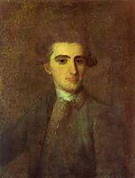 Portrait of N.E.Struisky, 1772, rokotov