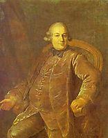 Portrait of P.I.Vyrubov, 1768, rokotov