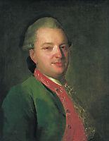 Portrait of the Poet Vasily Maykov, c.1760, rokotov