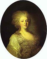 Portrait of Praskovya Nikolayevna Lanskaya, c.1790, rokotov