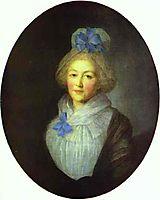 Portrait of Princess A.A.Dolgorukaya, c.1790, rokotov