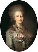 Portrait of Varvara Nikolaevna Surovceva, c.1780, rokotov