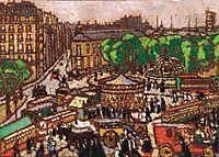 Busy City Scene , 1914, ronai
