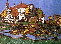 Mansion at Geszt, 1912, ronai