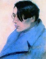 Portrait of Lorinc Szabo, 1923, ronai