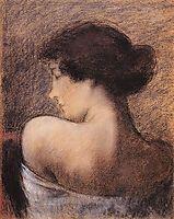 Profile of a Woman, 1919, ronai