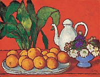 Still Life with Oranges, ronai