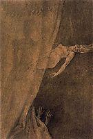 Illustration of -Les Diaboliques-, 1879, rops