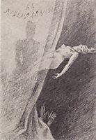 Illustration of -Les Diaboliques-, 1882, rops