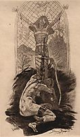 The Lover of Christ, 1888, rops