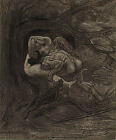 The Prehistoric Mating or Hunting for the Femal, rops