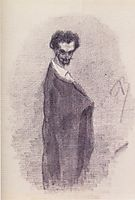 Satanic Self-Portrait, c.1860, rops