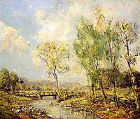 Country Landscape, rose