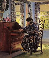 The Difficult Reply, 1910, rose